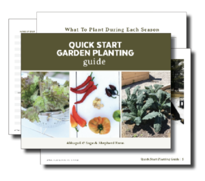 Quick Start Planting Guide
