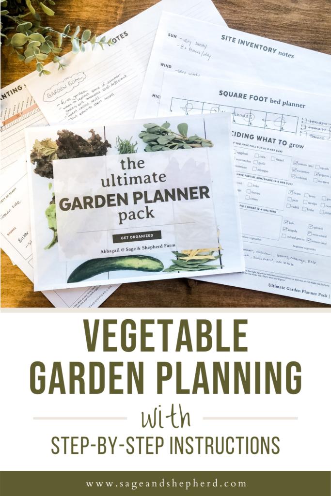 garden planning step by step